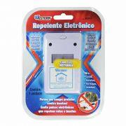 Repelente Eletrônico Para Ratos Baratas Formigas e Aranhas Bivolt Western REP-1