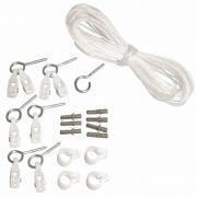 Kit de Reposição de Cordas e Roldanas para Varal de Teto Secalux 0031010