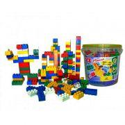 Blocos de Montar Block Mania com 104 Peças Alfem Plastic 6000