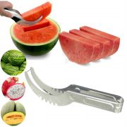 Cortador Fatiador de Melancia e Frutas em Aço Inox JX-4