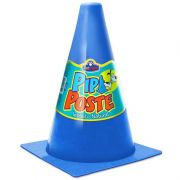 Cone para Cachorro Pipi Poste Azul Pet Injet 10175