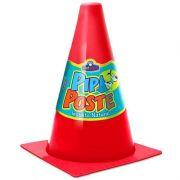 Cone para Cachorro Pipi Poste Vermelho Pet Injet 10176