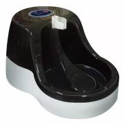 Fonte Bebedouro para Gatos Água Corrente Preto 110V Furacão Pet 0235