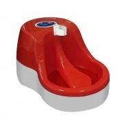 Fonte Bebedouro para Gatos Água Corrente Vermelha 110V Furacão Pet 0236