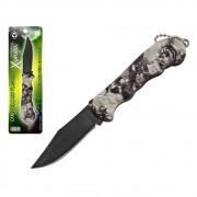 Canivete Caça e Pesca Aço Inox Cabo Plástico Xingu XV3095