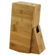 Cepo de Bambu para Facas Chaira e Tesoura Faqueiro Organizador CK3570