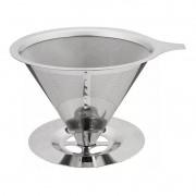 Coador Filtro de Café Inox Permanente Não Usa Filtro de Papel CK3362