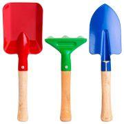 Conjunto para Jardinagem Infantil 2 Pás e 1 Ancinho AG9002