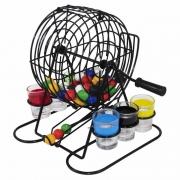 Jogo de Bingo com Copos Shot 48 Bolas Coloridas FNG6620