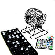 Jogo de Bingo com Globo em Metal 75 Bolas IM52002LY