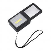 Lupa de Mão Aumento 3X Portátil com Luz LED TH-7013