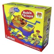 Massinha de Modelar Lanches DM Toys DMT5117