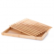 Tábua para Pão Migalheira de Bambu para Corte de Pão CLA06054