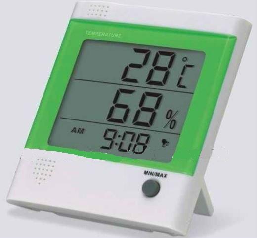 Termômetro Digital de Máxima e Mínima com Higrômetro PD002