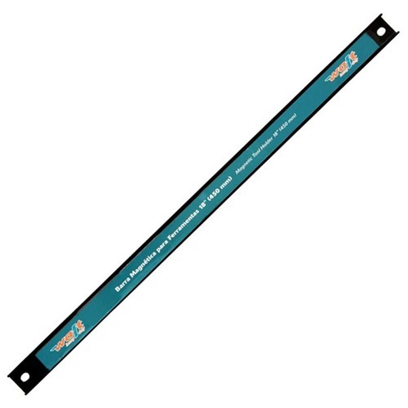 Barra Magnética Para Organizar Ferramentas com Imã 45cm Waft 6228