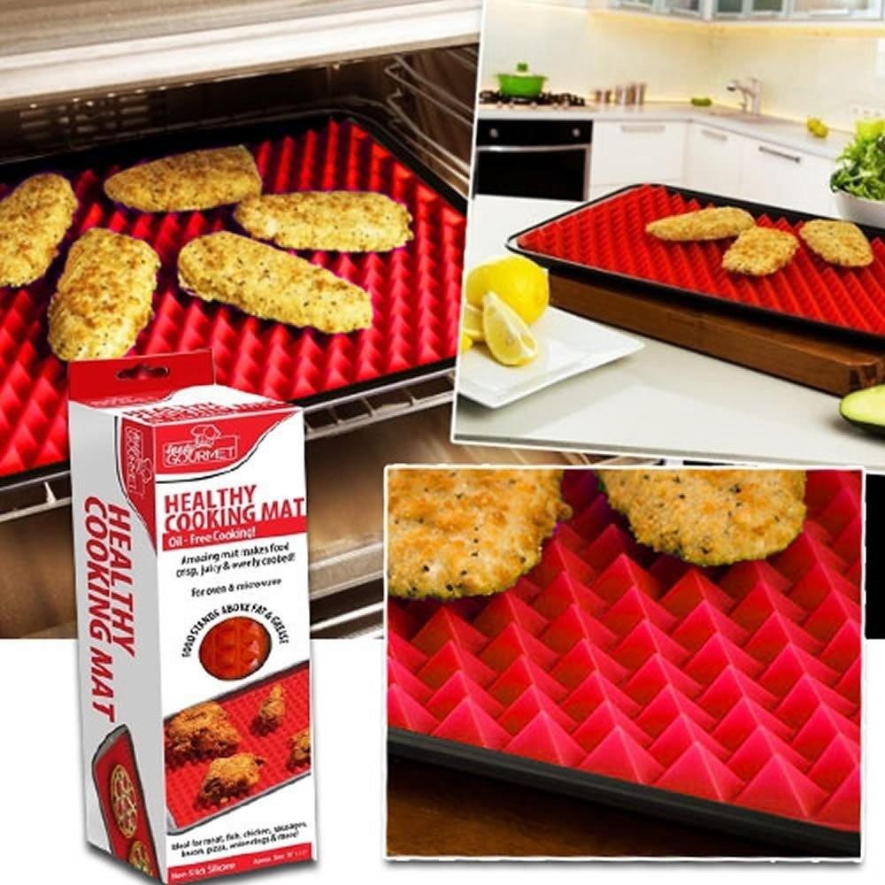 Tapete De Silicone Culinário para Forno e Micro-ondas Cooking Mat