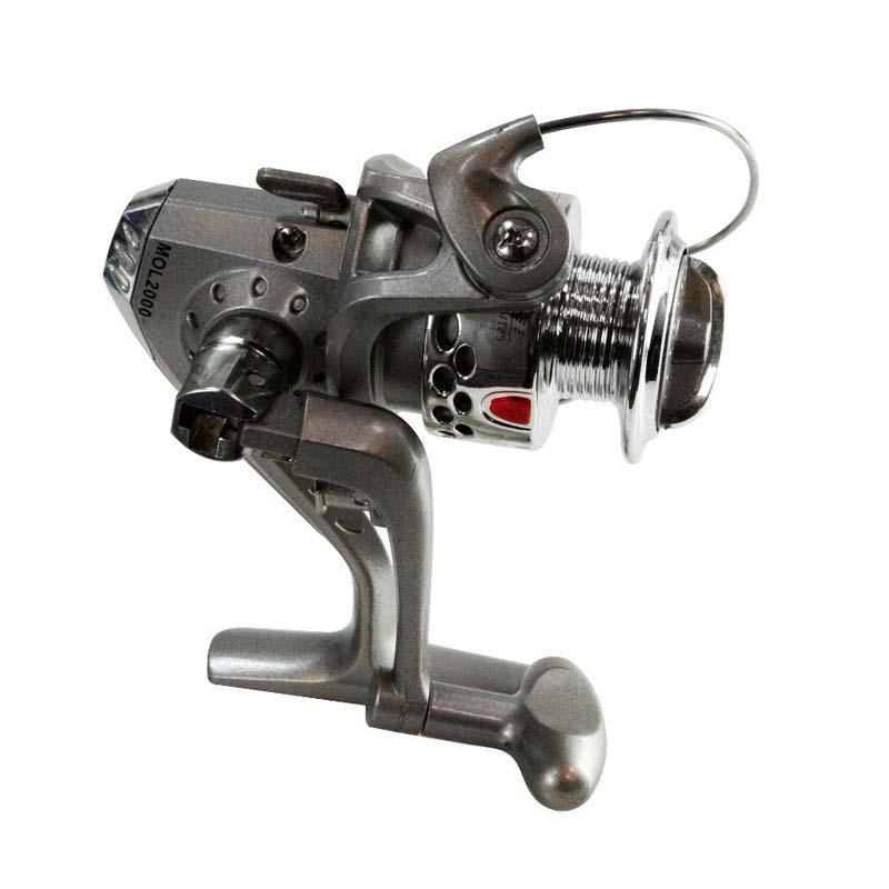 Molinete 20 para Vara de Pesca 6 Rolamentos Western MOL2000/6