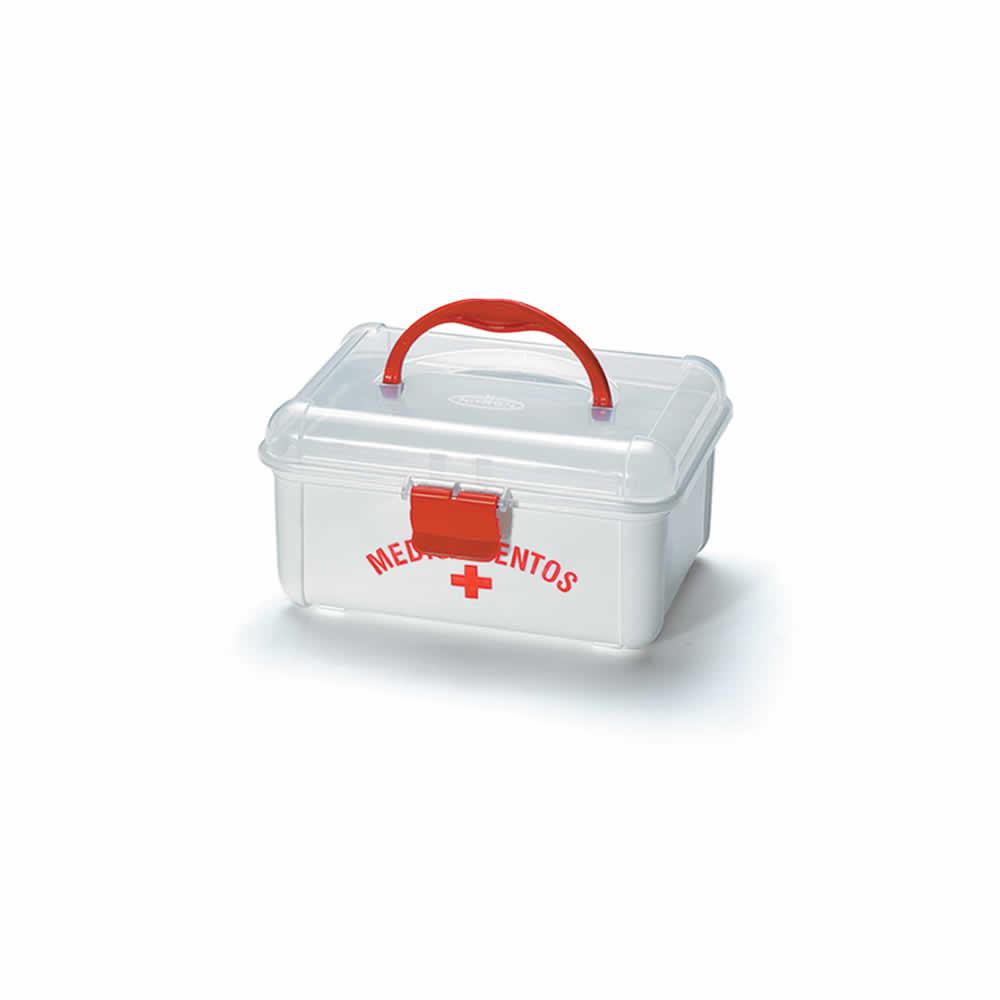 Kit com 10 Maletas Organizadoras para Medicamentos Pequena Nitron 043/M