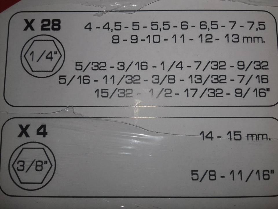"""Kit Soquete com Chave Catraca Reversível 3/8"""" e 1/4"""" 50 Peças SQ-2939"""