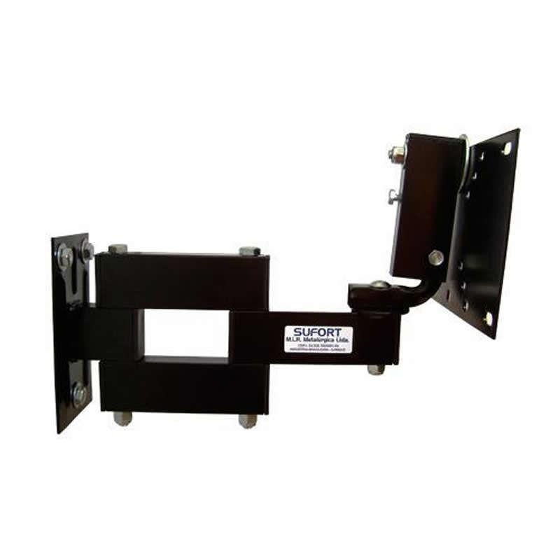 """Suporte Articulado para TV LCD ou LED de 10"""" a 42"""" padrão VESA Sufort LCD-30"""