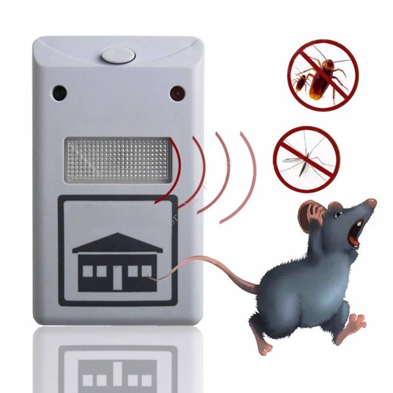 Repelente Eletrônico Para Ratos Baratas Formigas e Aranhas Bivolt JX-6