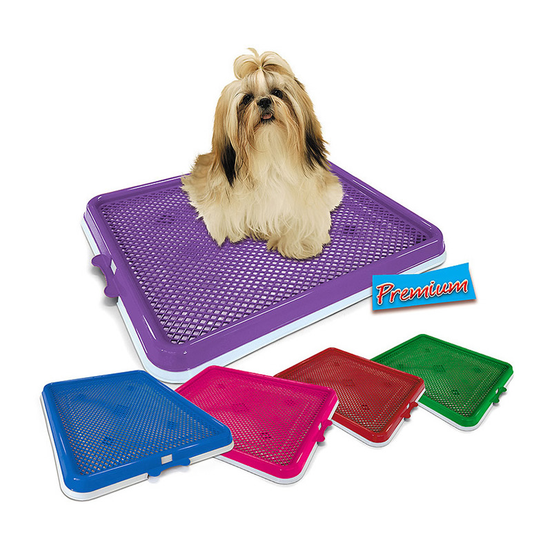Sanitário Higiênico Xixi Pets Premium Pet Injet Verde 10098