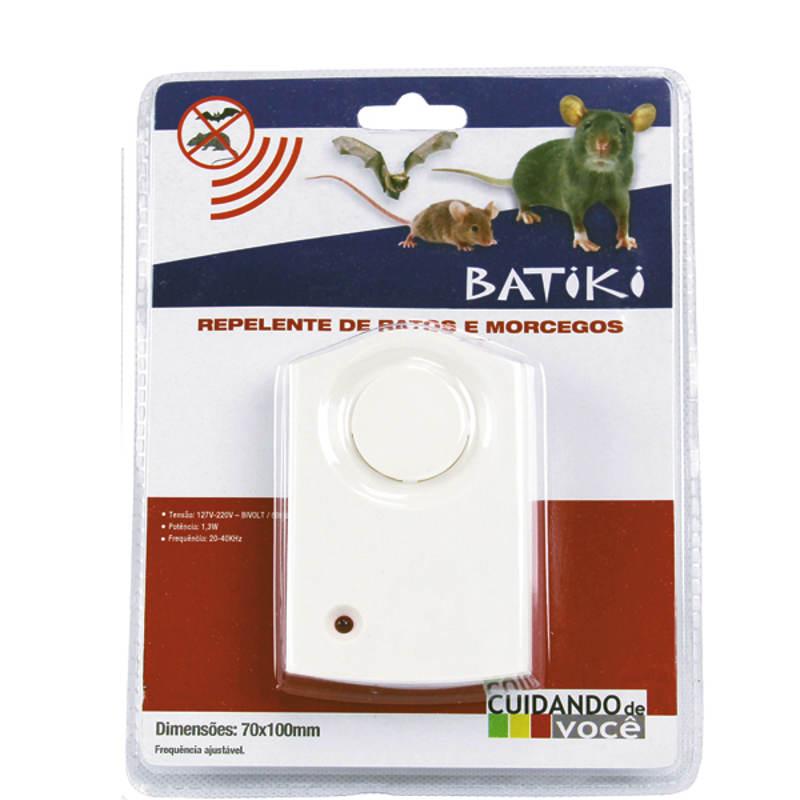 Repelente Eletrônico Para Ratos e Morcegos Bivolt Batiki 32843