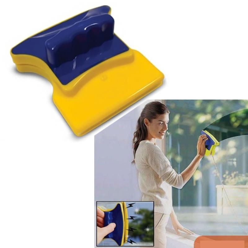Limpador Magnético para Janelas e Aquários com Feltro