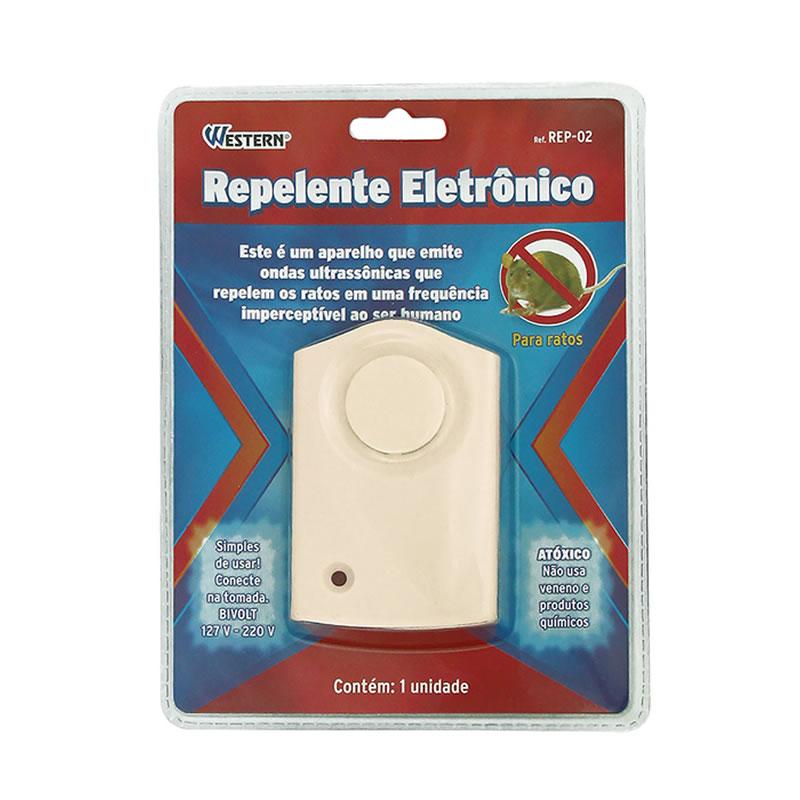 Repelente Eletrônico Para Ratos e Morcegos Bivolt Western REP-02