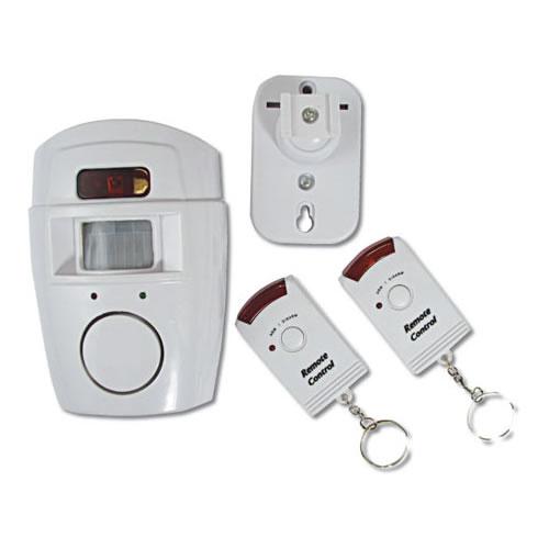 Alarme Residencial Kit com 1 Sensor de Presença e 2 Controles Remotos YL105