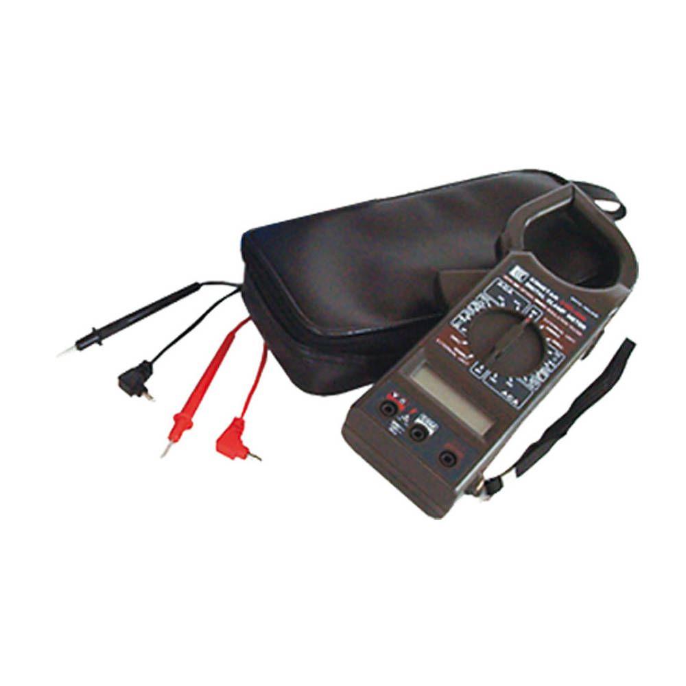 Alicate Amperímetro Digital AC DC - Resistência e Contínuidade com Bip - Western - KM-2