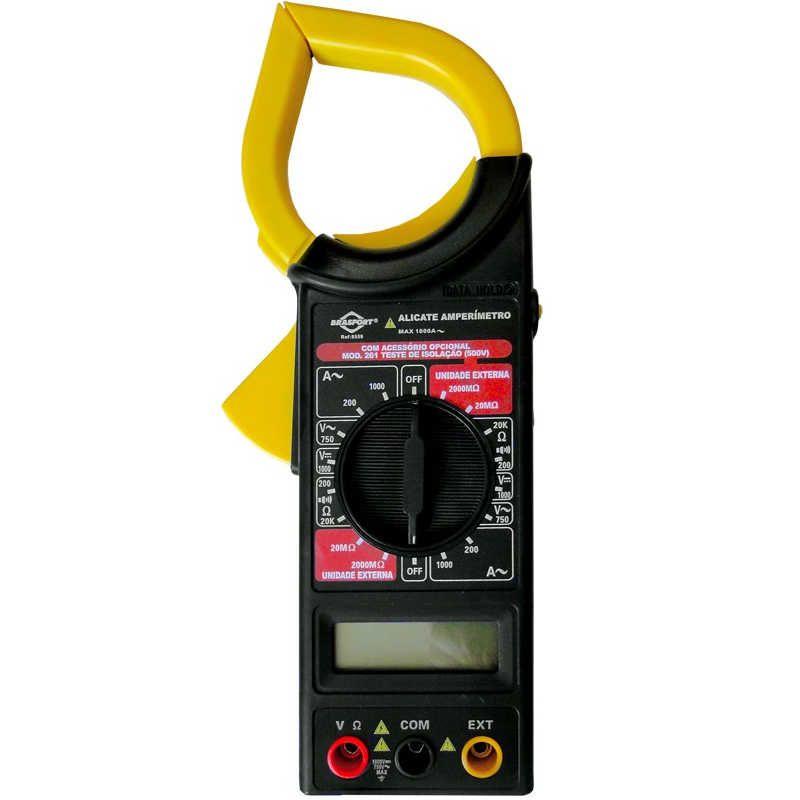 Alicate Amperímetro Digital com Estojo Brasfort 8559