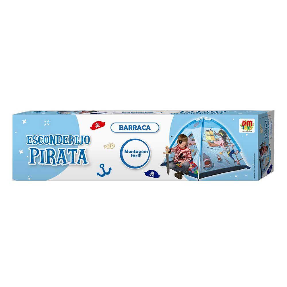 Barraca Infantil Estação Bombeiro DM Toys DMT5653