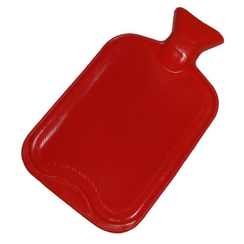 Bolsa Térmica Para Água Quente Em Borracha 2L