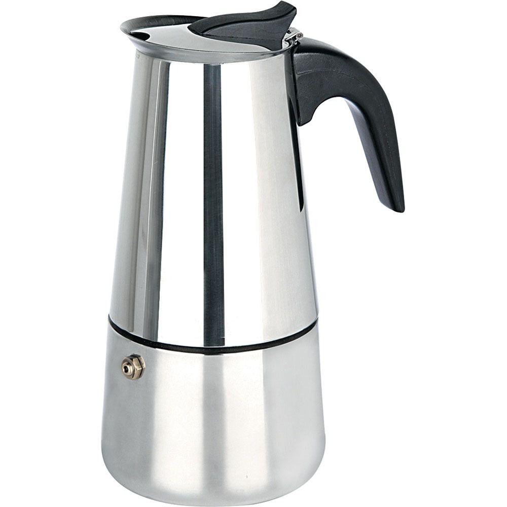 Cafeteira Tipo Italiana em Inox para 2 Xícaras de Café 42102