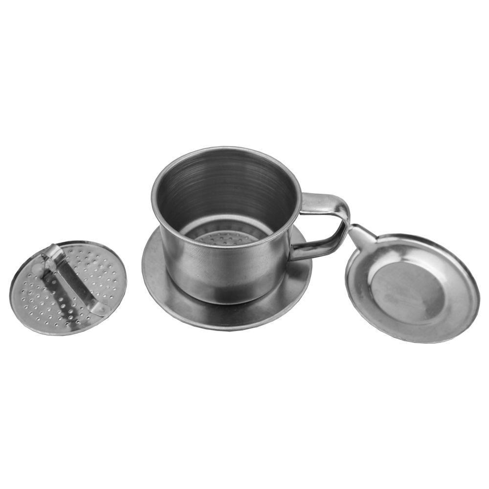 Cafeteira Vietnamita Filtro de Café Gotejador para Barista 1 a 3 Xícaras