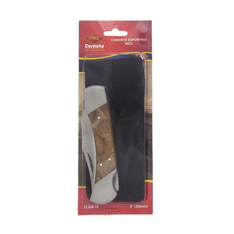 Canivete Esportivo Acabamento Inox Corneta 72.200.10