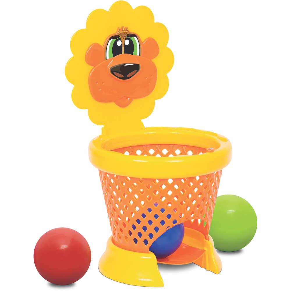 Cesta de Basquete Infantil Basket Ball Baby Mercotoys 426