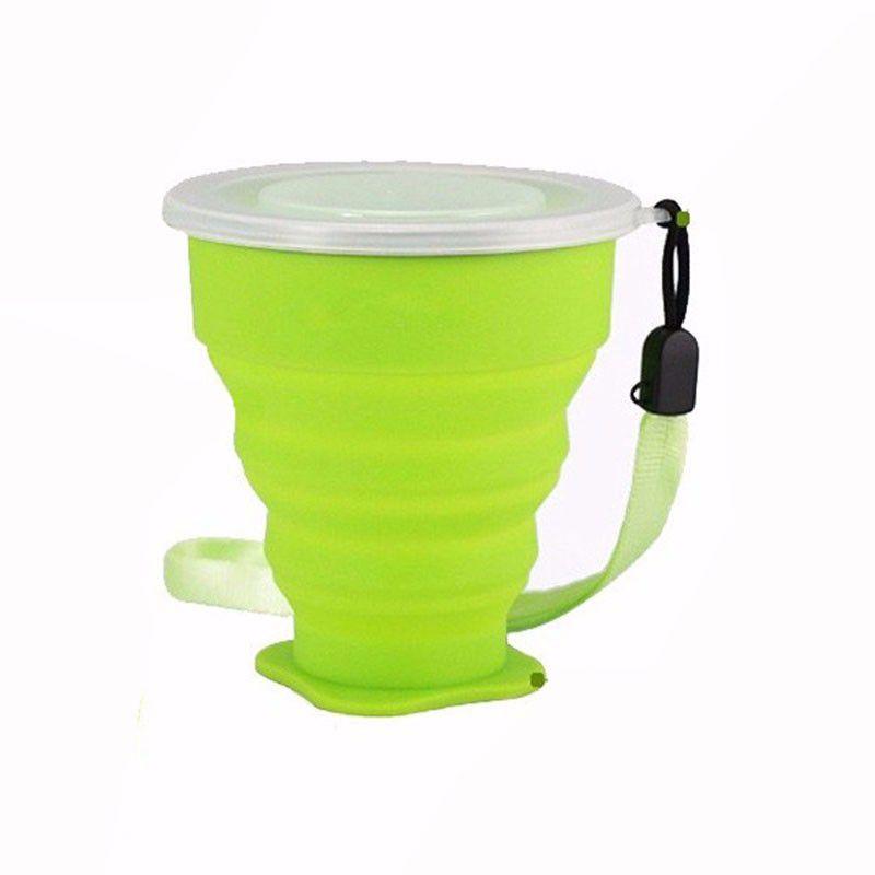 Copo de Silicone Ecológico Dobrável Reutilizável 270ml XM-51865