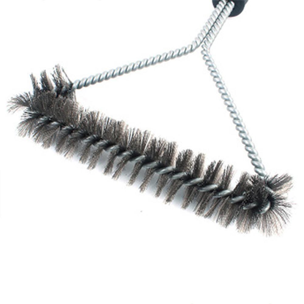 Escova de Aço Limpa Grelha de Churrasqueira HM9004
