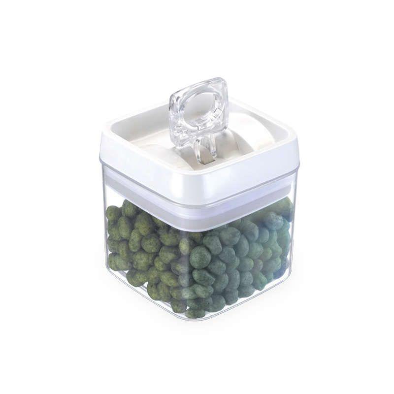 Kit 3 Potes Herméticos em Acrílico 1,1 Litros Injeplastec 0281