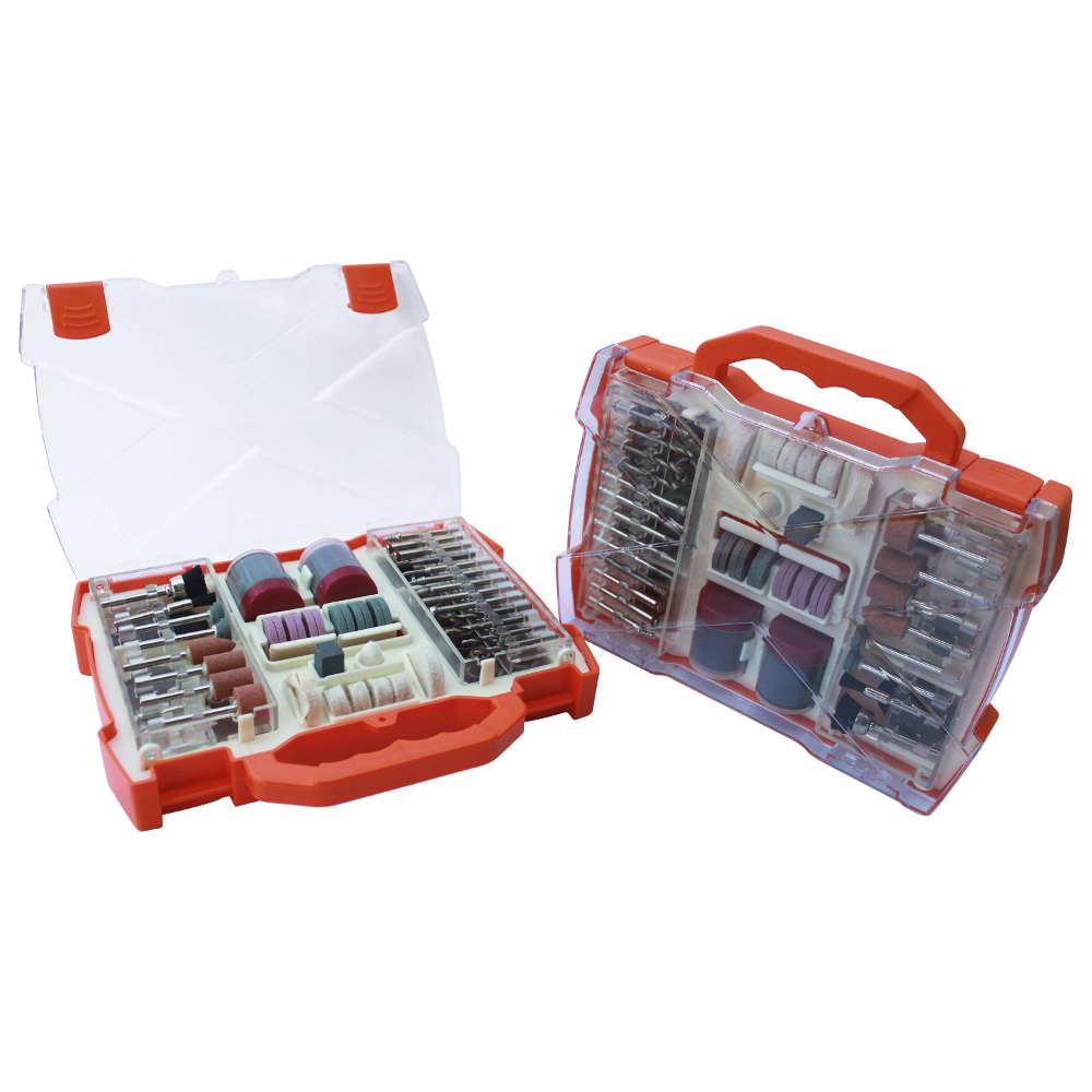 Kit 99 Acessórios para Micro Retífica com Ponteiras Lixas Discos Bestfer BFH2328