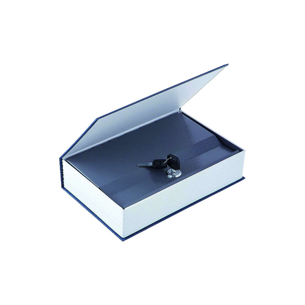 Livro Cofre Camuflado com Chave Tema Dicionário Médio