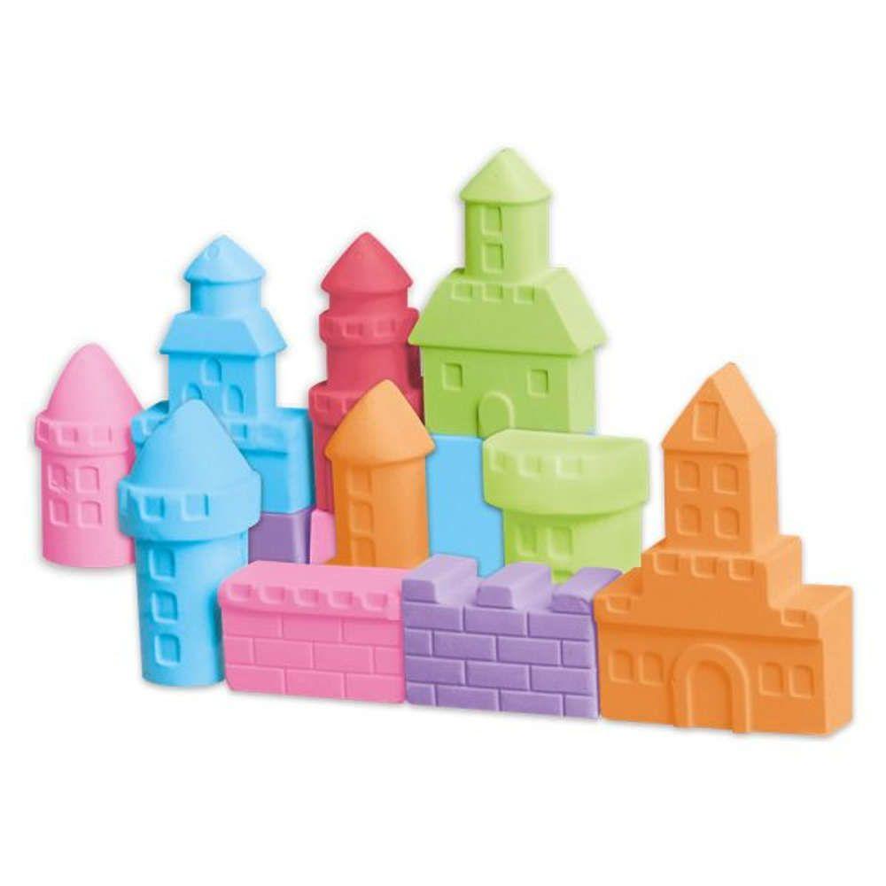 Massinha de Modelar e Forminhas para Massinha Castelos DM Toys DMT5336