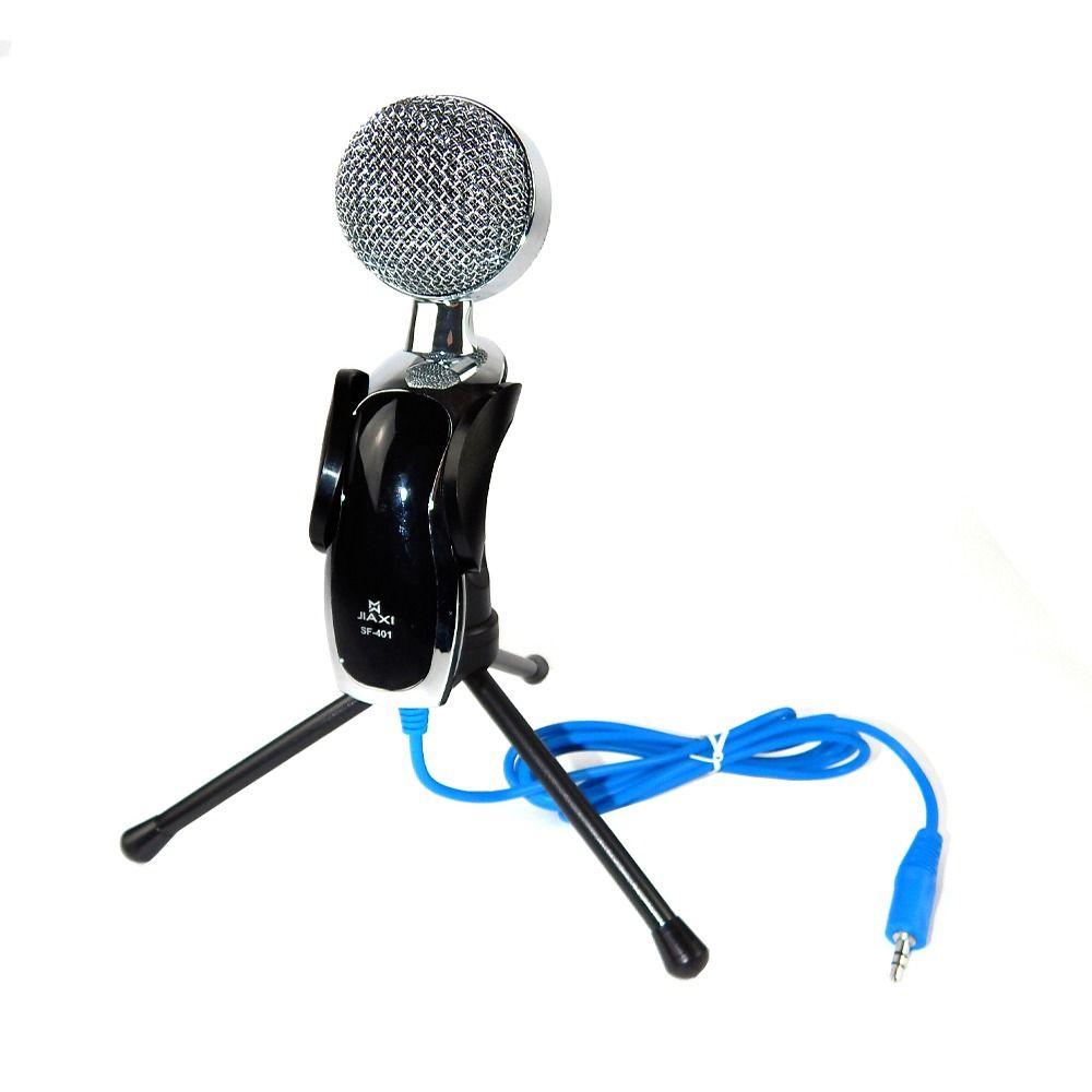 Microfone com Redução de Ruído de Mesa com Tripé Jiaxi SF-401