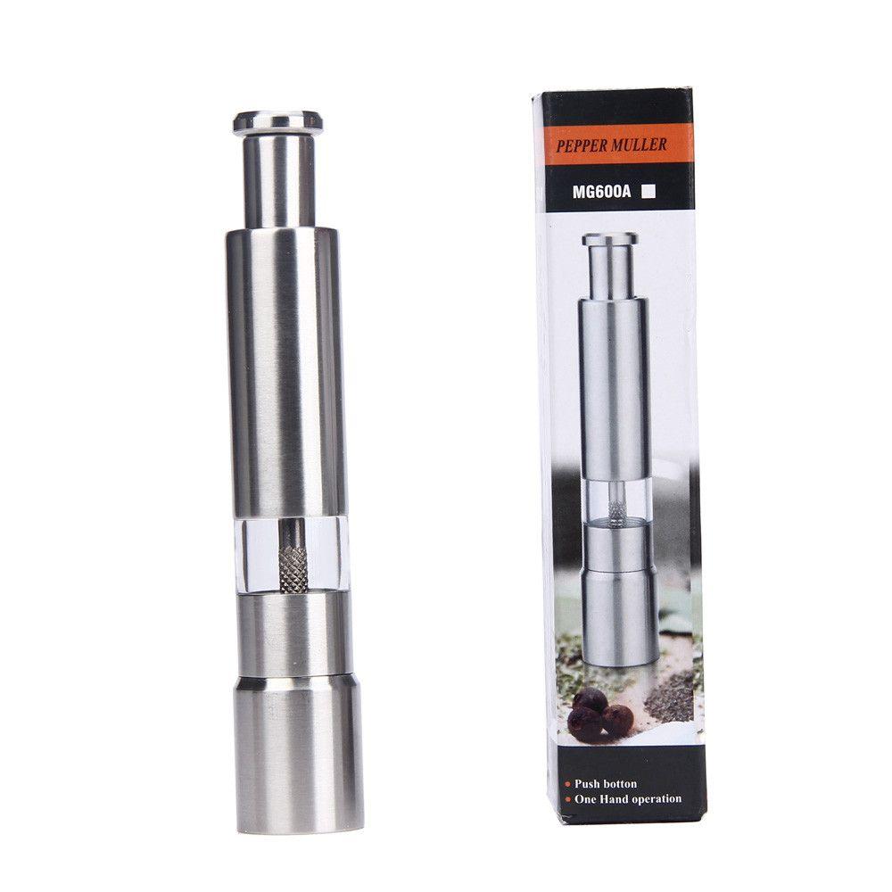Mini Moedor de Pimenta Inox Manual MG600A