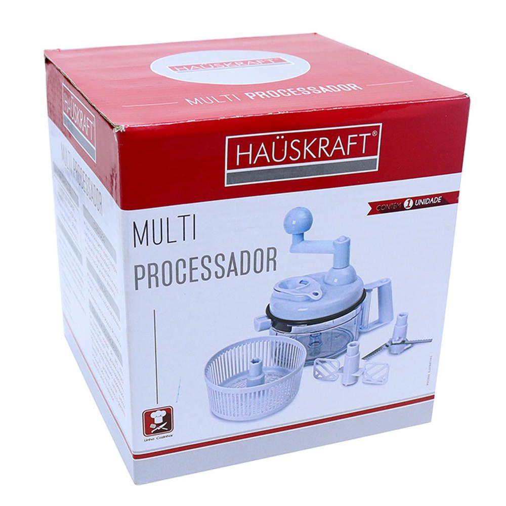 Multi Processador de Alimentos Manual Hauskraft MPRO-001