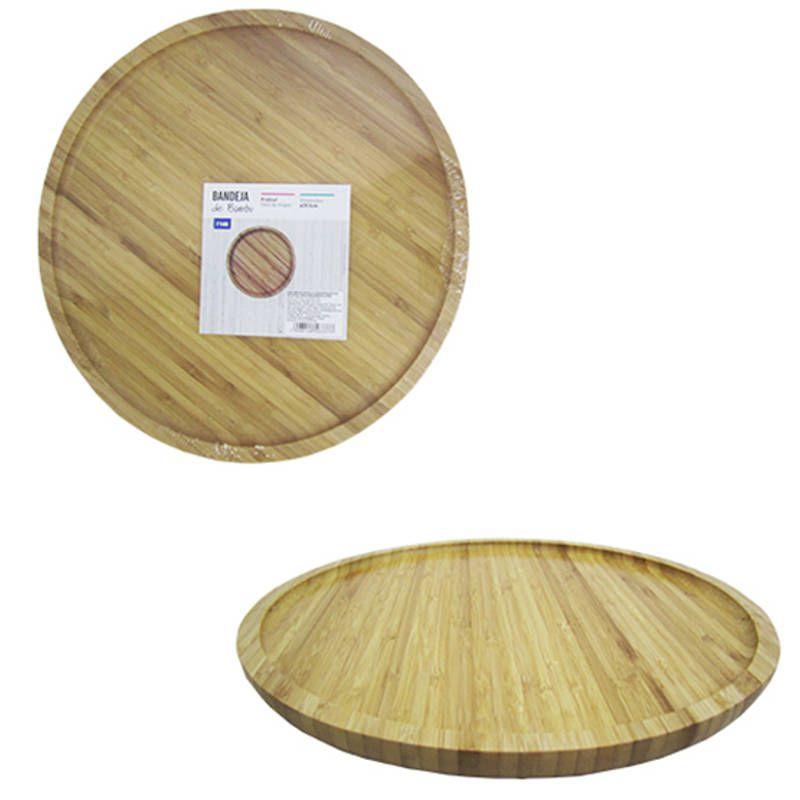 Petisqueira Bandeja de Bambu Redonda 29,5cm FWB 96337