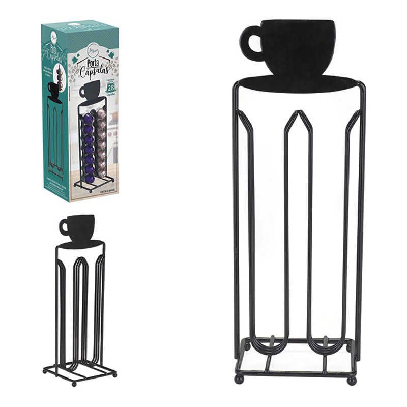 Porta Cápsula Nespresso para 28 Cápsulas de Café Art House ZF2672