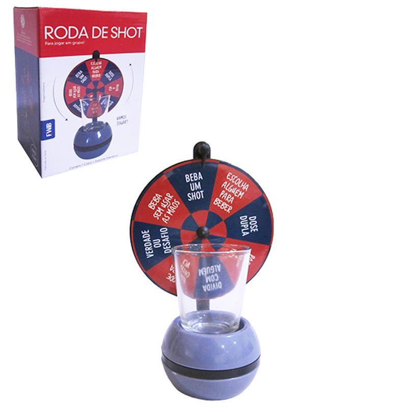 Roleta Roda de Shot Drinks com Copo FWB 95659